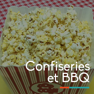Confiseries et BBQ location