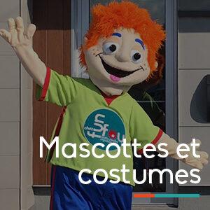 Mascottes et costumes location