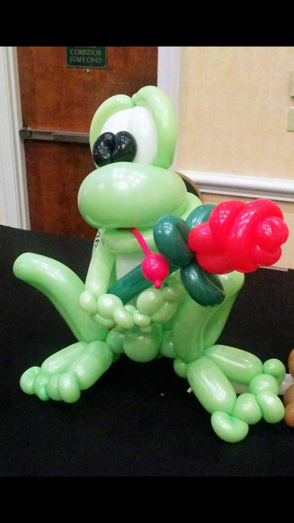 ballon grenouille
