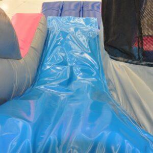 Château de princesses Disney gonflable avec glissade et sautoir