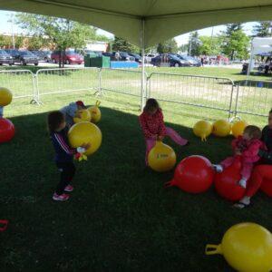 Ballons sauteur
