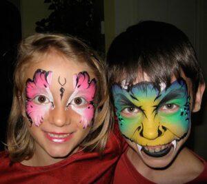 Maquillage artistique et tattoo au «airbrush»