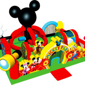 parc-mickey-mouse gonflable