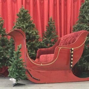 Traîneau du Père Noel