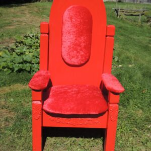 chaise-pere-noel-rouge