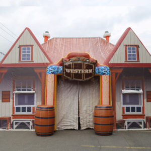 Chapiteau western