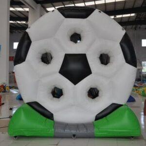 jeu tir soccer gonflable