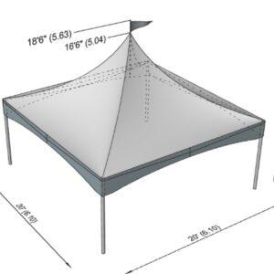 chapiteaux dimensions