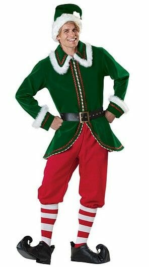 Costume d'Elf lutin
