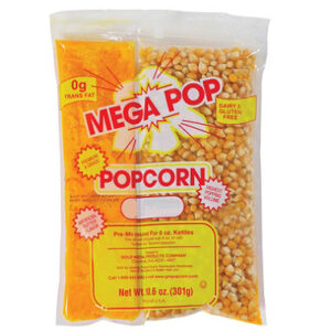 Sachets pour la machine à pop corn 6 oz