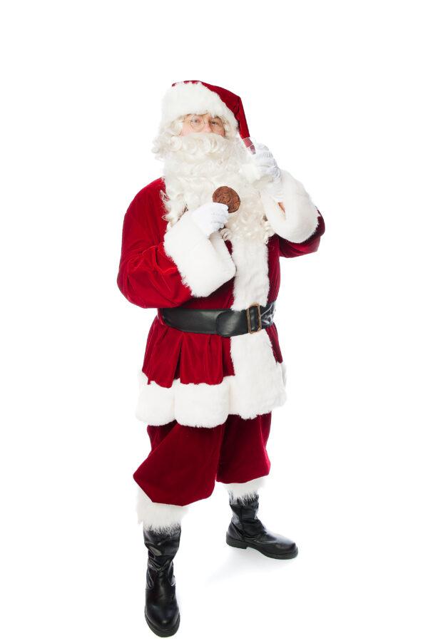 Costume Père Noël de luxe