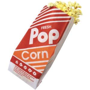 Sacs à pop corn paquets de 25