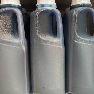 Saveur slush à la framboise bleue (bleu) 1 litre