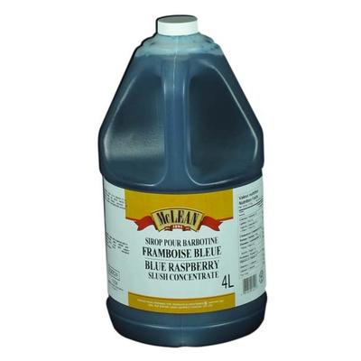 Saveur slush à la framboise bleue (bleu) 1 gallon